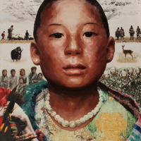 Lim Young Sun: Tibet 194x145cm Oil on Canvas 2008