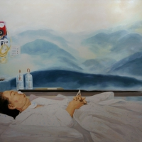 Lim Young Sun: Mother 218x291cm Oil on Canvas 2008