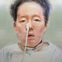 Lim Young Sun: Mother 162x130cm Oil on Canvas 2008