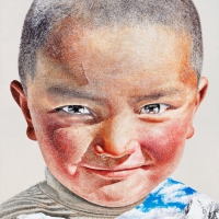 Lim Young Sun: Tibet Himalaya 205x310cm Oil on Canvas 2011