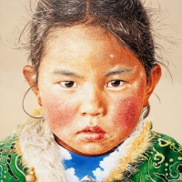 Tibet Himalaya 260x194cm Oil on Canvas 2010