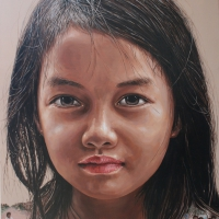Lim Young Sun: Aniong Kngan 116.5x90cm Oil on Canvas 2009